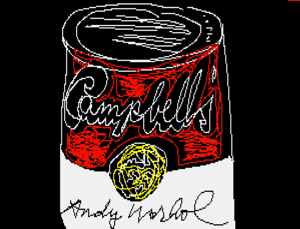 """""""Andy2,"""" 1985. Copyright, The Andy Warhol Foundation for the Visuals Arts Inc."""