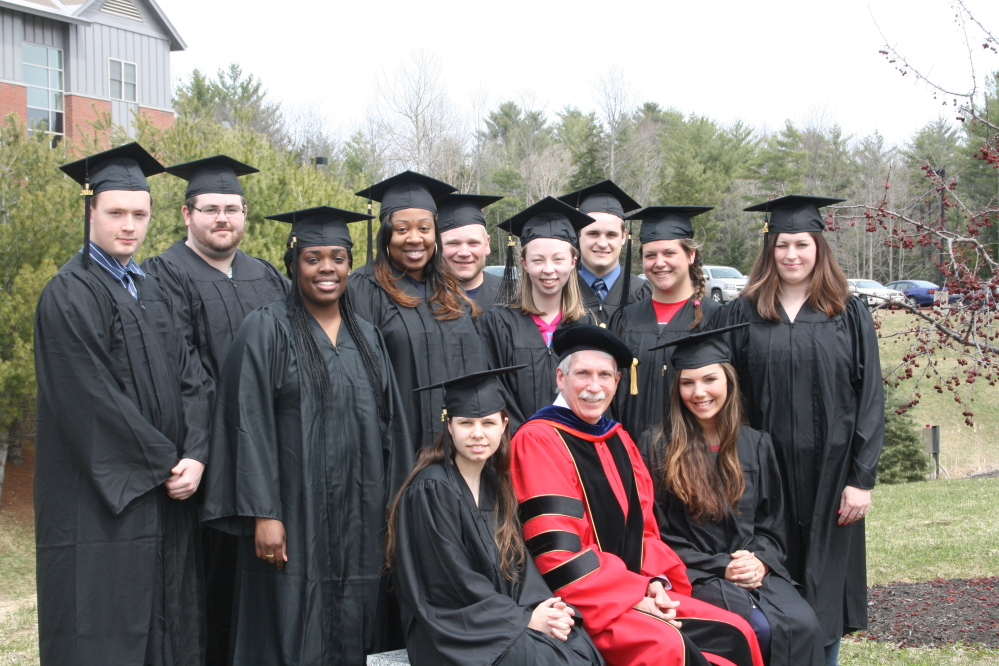 Beating the Odds: Members of Thomas College's EDGE program, designed to help first-generation college students graduate, will be among the 198 students graduating May 10, the Waterville college's biggest graduation class ever.