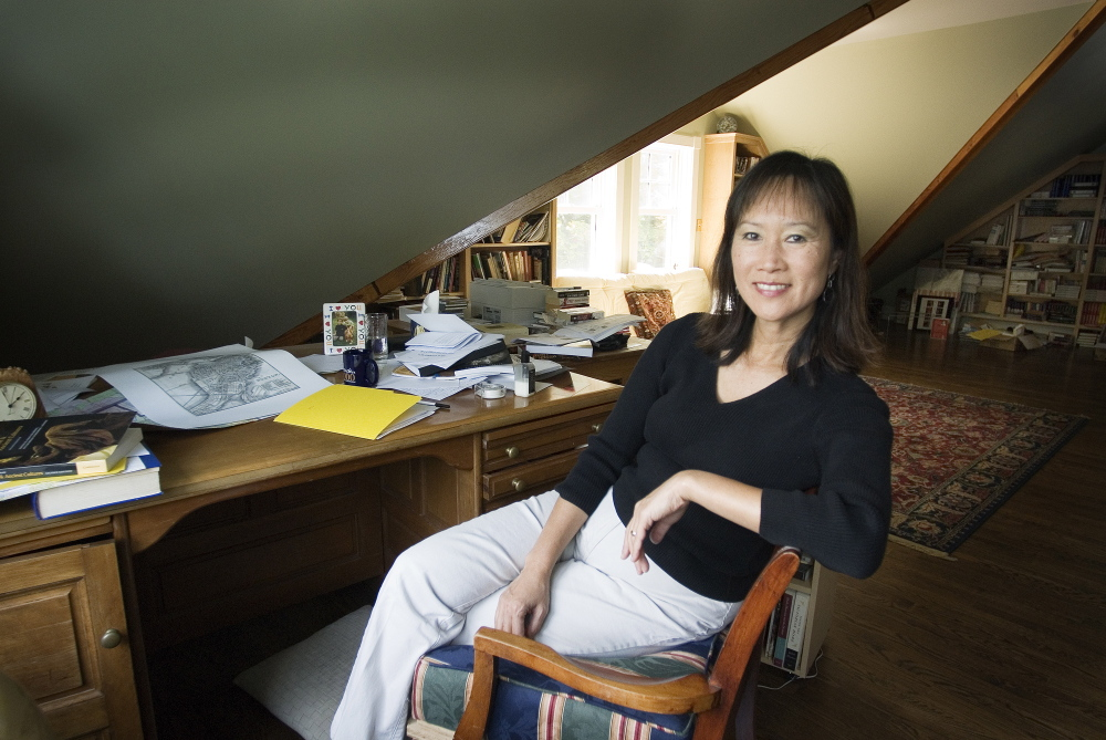 "Tess Gerritsen's book ""Gravity,"" published in 1999, features a research physician on her first mission to the International Space Station. She says she can't talk about her lawsuit, even though she's ""dying"" to do so."