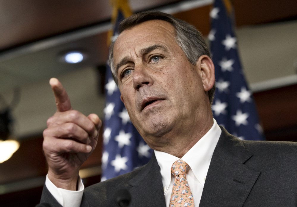 Speaker of the House John Boehner discusses Thursday the special select committee he has formed to investigate the 2012 attack on the U.S. diplomatic post in Benghazi, Libya. The panel's investigation will be the eighth on Benghazi.