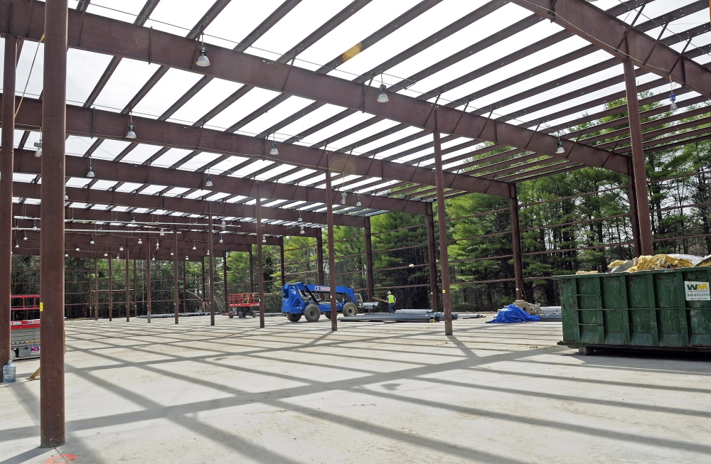 TRANSPORTATION MOVE: The state's future fleet maintenance site at 66 Industrial Drive.