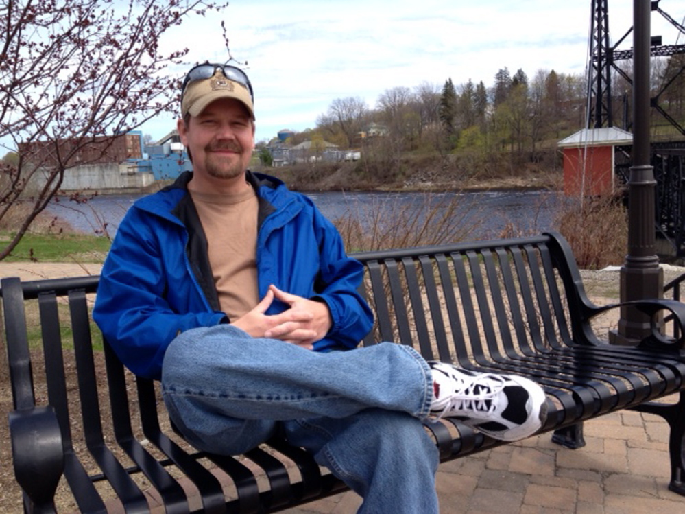 Back to School: Tony Bernard, 40, of Waterville, will receive his high school diploma May 27 after completing his adult education studies 22 years after he quit high school.
