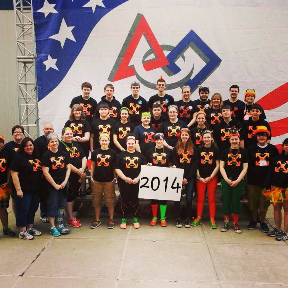 SUCCESS: The Messalonskee robotics team finished 52nd out of 100 teams last month in the FIRST Robotics World Championship in St. Louis, Mo., and all 10 of the team's graduating seniors are going on to college.