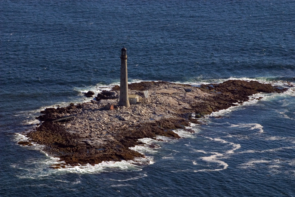 Boon Island Light Station off York, where the light will still shine, but the ownership will change.