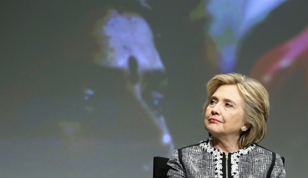 Former U.S. Secretary of State Hillary Clinton participates in an event on empowering women and girls in Washington Wednesday. Recent actions hint at a 2016 candidacy.
