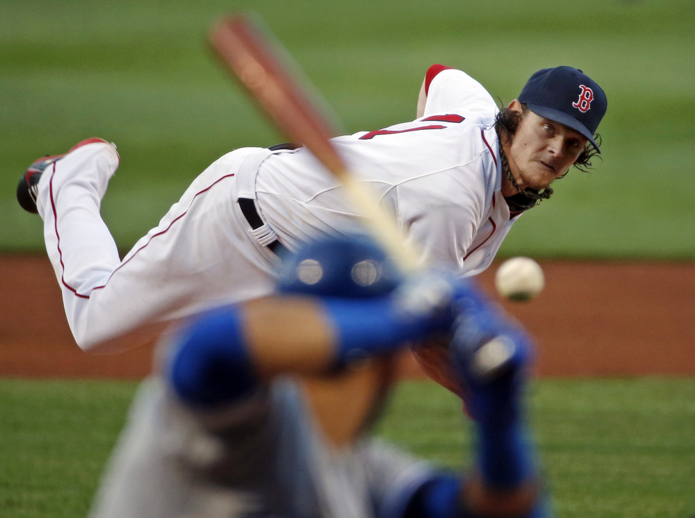 Boston Red Sox starting pitcher Clay Buchholz gave up five runs in 4 2/3 innings Wednesday.