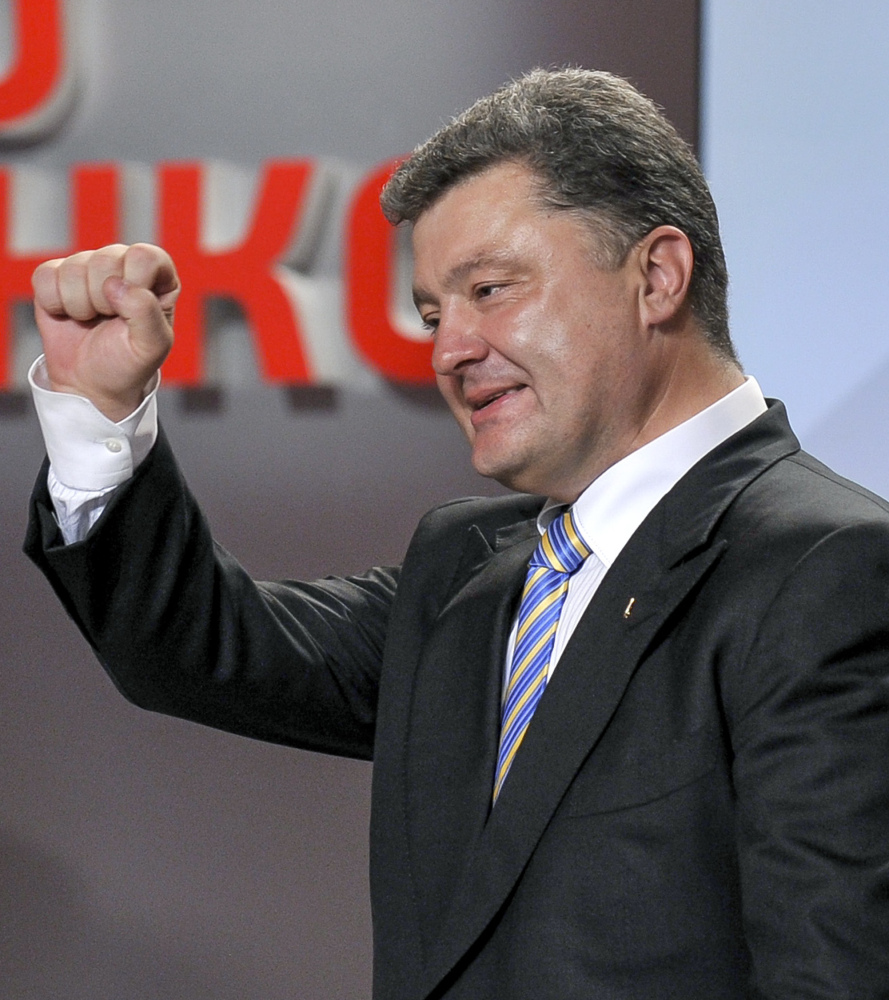 "Petro Poroshenko, the likely Ukrainian president, built his wealth not through insider deals but through a candy empire that has led to the perception that the 48-year-old is the ""good tycoon."""
