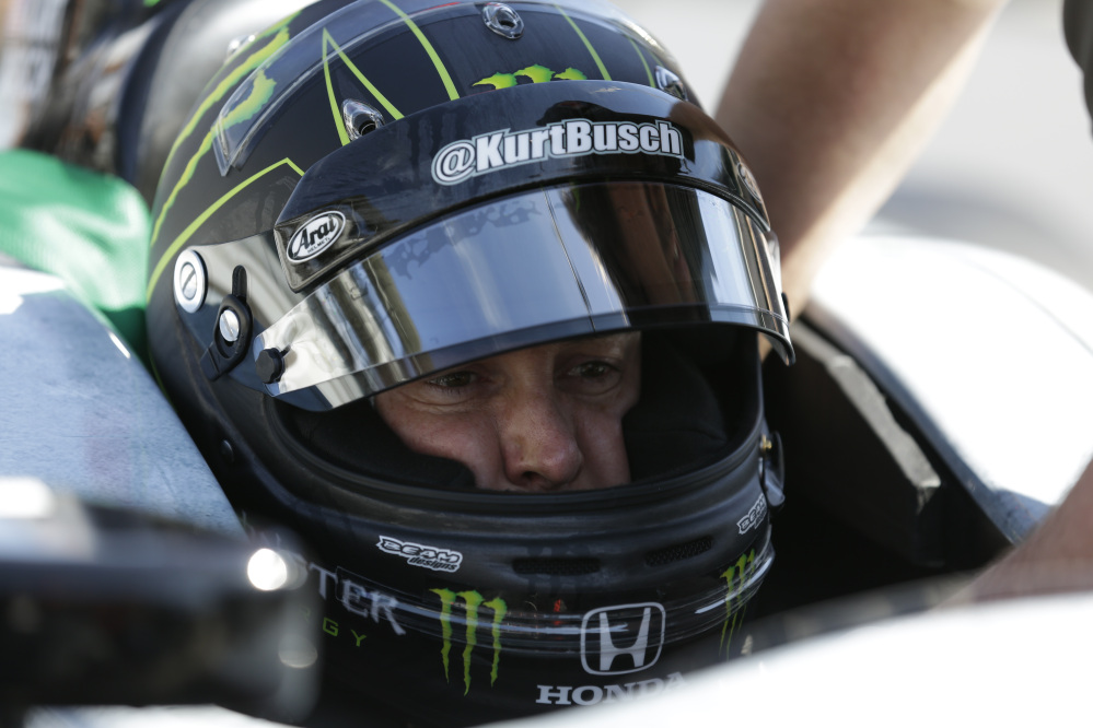 Race driver Kurt Busch will try to be the first driver in a decade to compete in IndyCar's Indianapolis 500 and Sprint Cup's Coca-Cola 600 on the same day on Sunday.