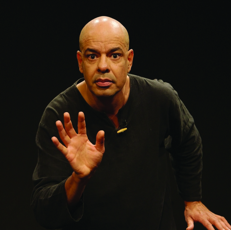 TELLING THE STORY: Mime Antonio Rocha brings the ancient art of storytelling to Farmington on June 14.