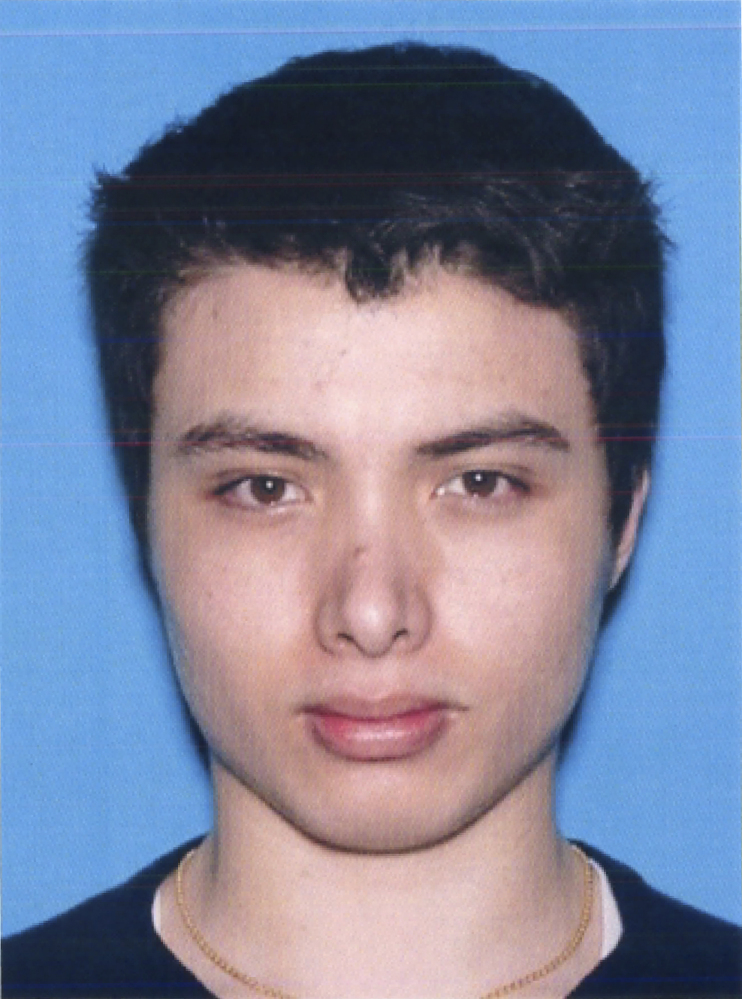 This photo from the California Department of Motor Vehicles shows the driver license photo of Elliott Rodger, 22, who went on a murderous rampage on May 23, 2014, killing six before dying in a shootout with deputies.