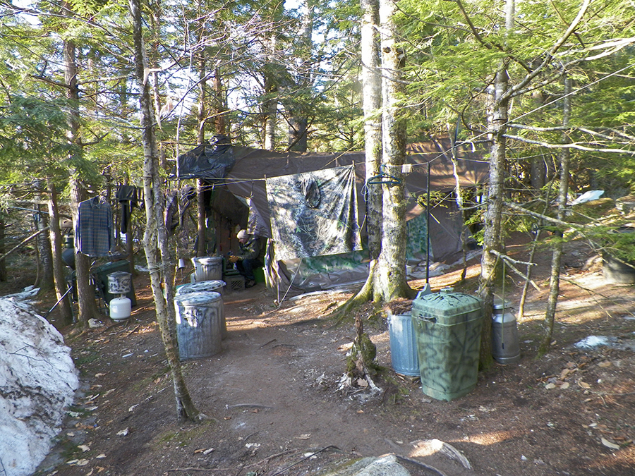 Christopher Wright hermit camp