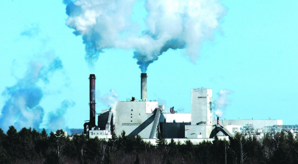 Staff photo by David Leaming GIVE ME SHELTER: Skowhegan residents will consider whether to pay $300,000 for a revaluation of the Sappi paper mill Monday night.