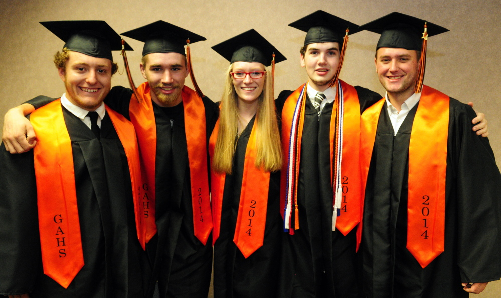 GALLERY: Gardiner graduation 2014 - Kennebec Journal and Morning ...