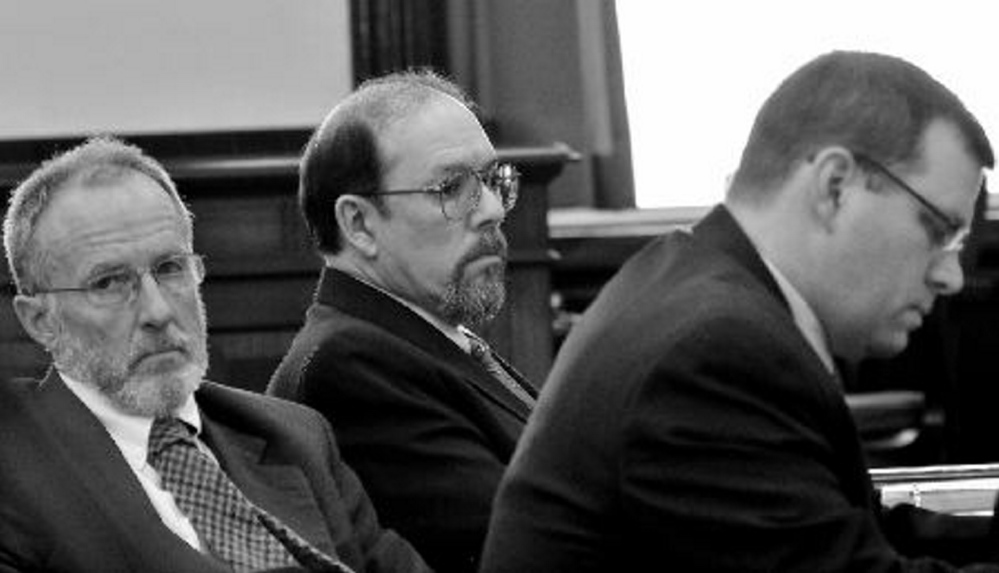 Staff File Photo NEW POST: John Alsop, left, is giving up his post as a probate court judge and his law practice to become the prosecutor in murder cases for the Somerset County attorney general's office.