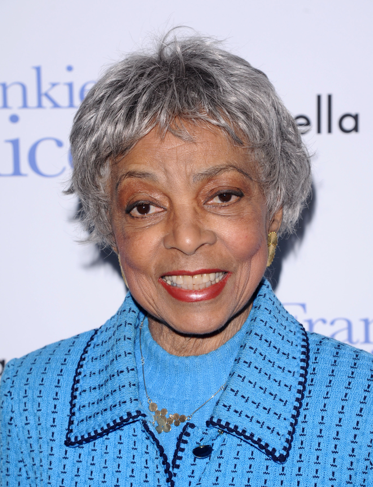 """In this 2010 photo, Ruby Dee attends a special screening of """"Frankie & Alice"""" in New York."""