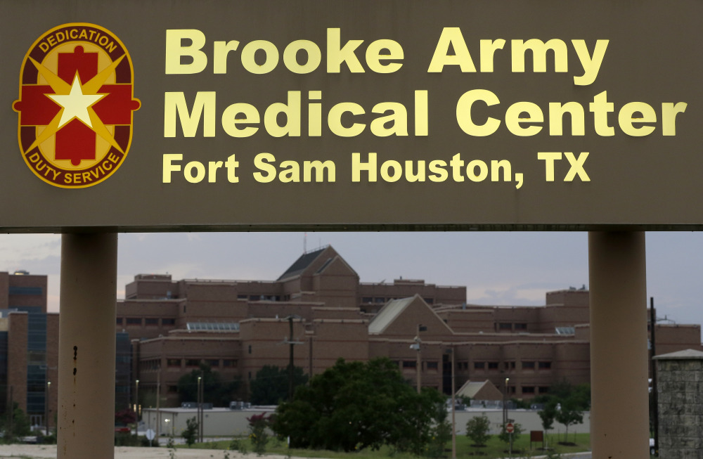 Sgt. Bowe Bergdahl was expected to arrive at the Brooke Army Medical Center in San Antonio early Friday morning.