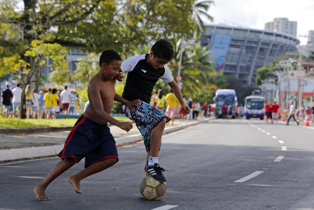 HOT TIME IN BRAZIL: While fans are enjoying the tropical temperatures of Brazil, players for the US soccer team have made sure to rest and stay hydrated to acclimate themselves to their warm surroundings.