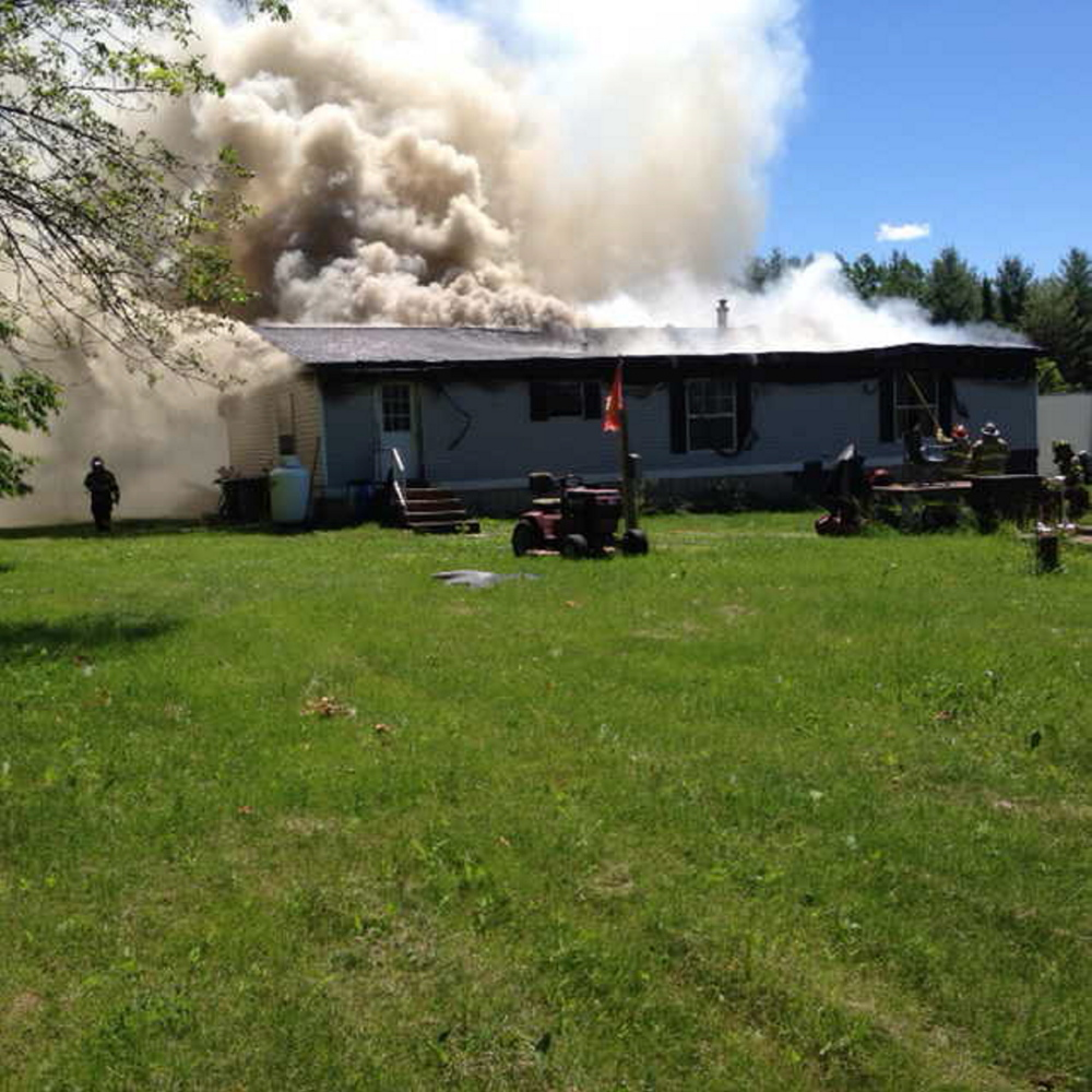 The cause of a fire in a Clinton mobil home last Thursday was caused by an overloaded electrical power strip, state fire investigators said.