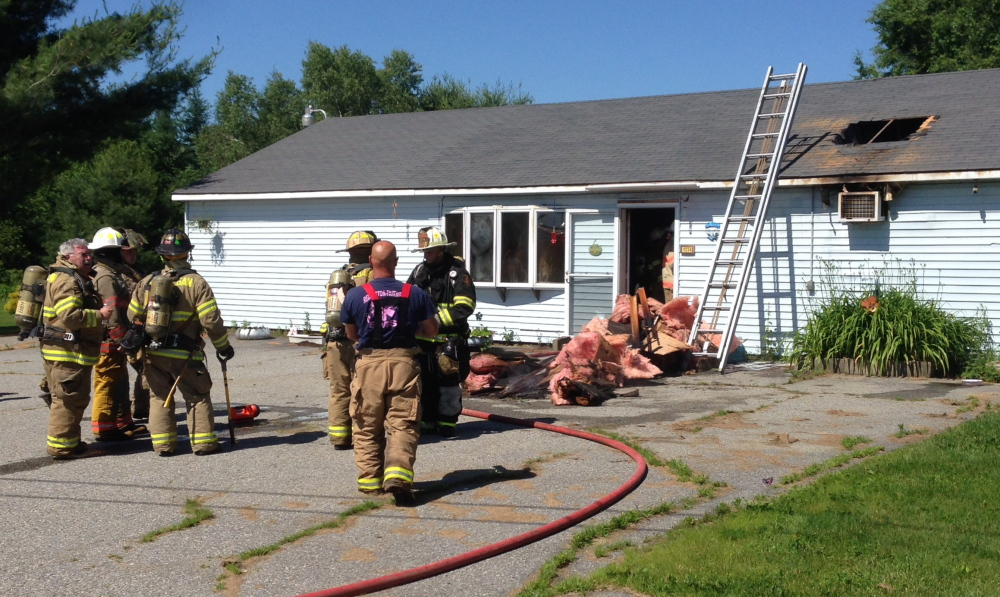 Fire officials say a fire at Hill Rd. in Canaan was probably caused by an electrical problem in or near an air conditioning unit. No injuries were reported, but the home was extensively damaged.