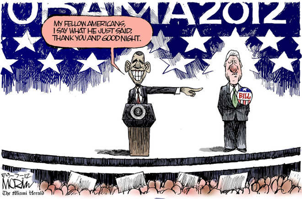 Today 39 s editorial cartoon obama 39 s speech for Volunteer motors clinton hwy