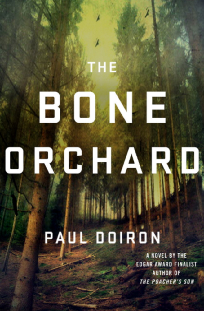 The Bone Orchard, published by St. Martin's, is due out July 15.