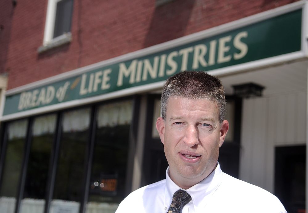 John Richardson of Augusta recently took over as the new director of Bread of Life Ministries.
