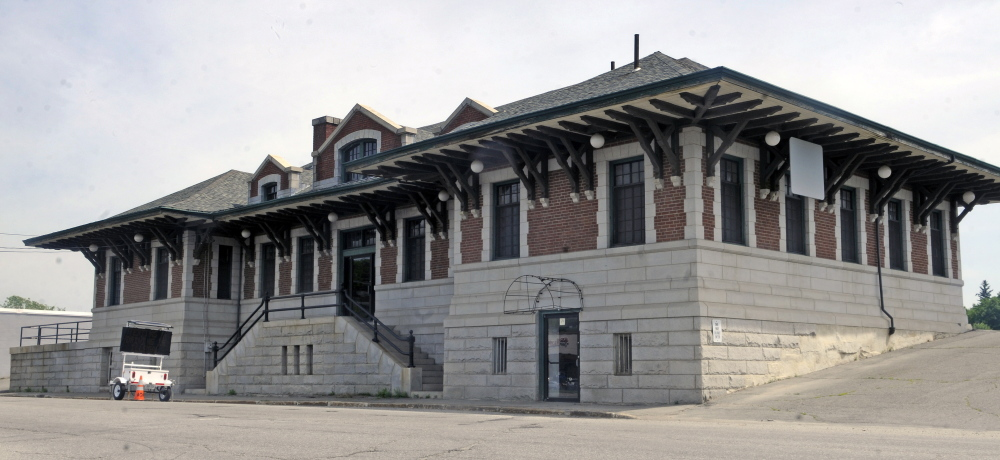 Wellness Connection of Maine plans to move the medical marijuana dispensary, now is in Hallowell, to the former train depot in Gardiner, seen here.