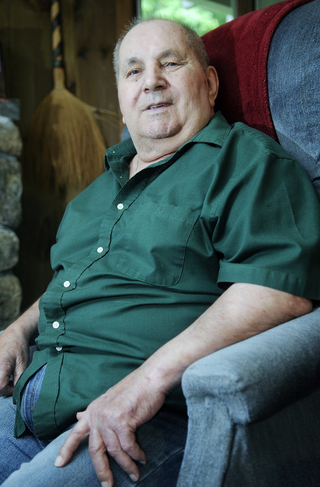 Carl Arata, 80, ran a service station in his community for several years.
