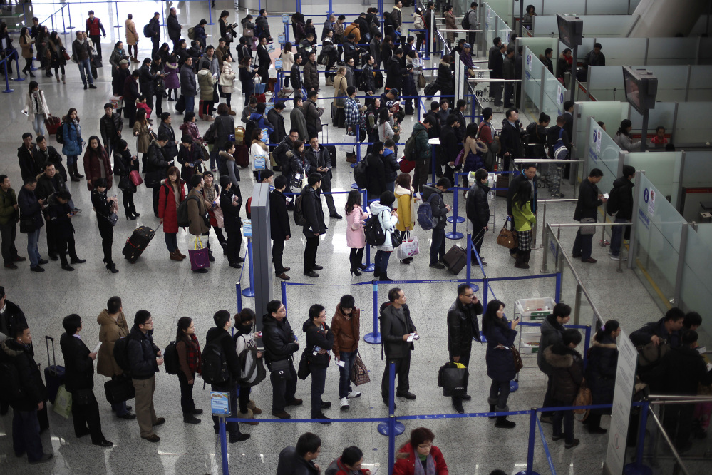 The Transportation Security Administration is requiring passengers at some overseas airports that offer U.S.-bound flights to power on their electronic devices. Devices that won't power up won't be allowed on planes, and those travelers may have to undergo additional screening.