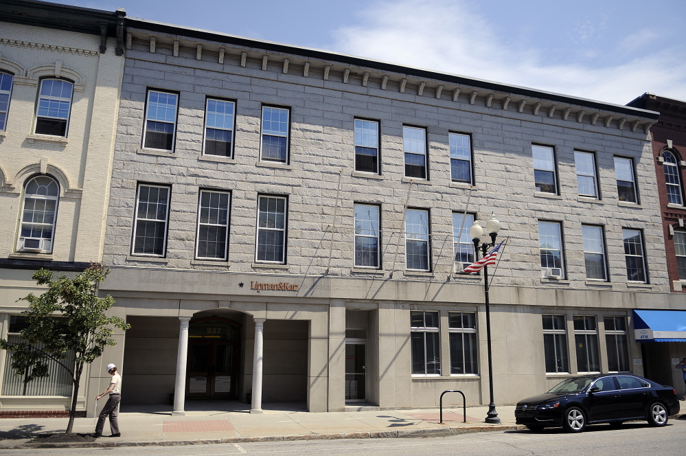 The third floor of 227 Water St. in Augusta is one of the buildings Smithtown Four LLC is renovating to make way for upscale apartments.