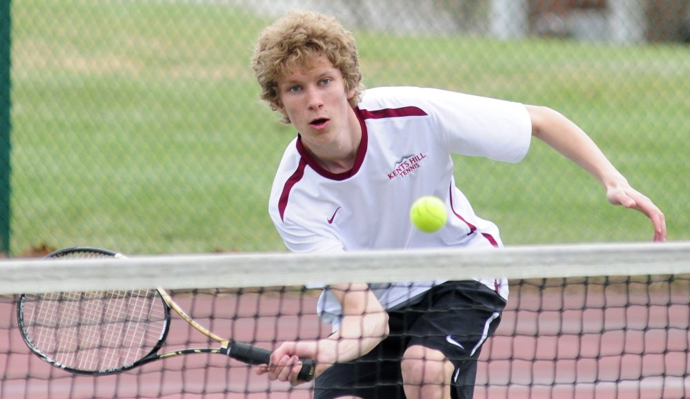 Kents Hill student and Augusta native Robert Patenaude is the Kennebec Journal Boys Tennis Player of the Year.
