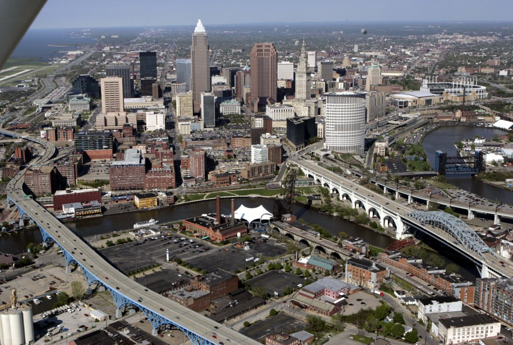 Cleveland, shown here in a 2005 photo, last hosted the Republican convention in 1936.