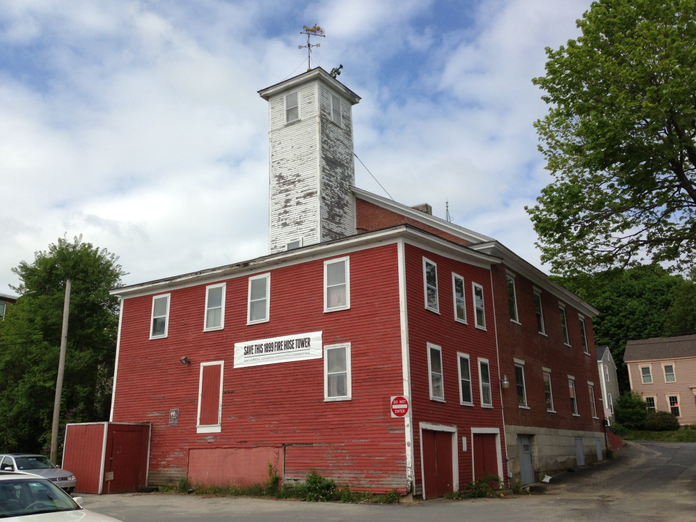 Proceeds from a military encampment at Vaughan Field on Saturday and Sunday will benefit the Hallowell Citizens Initiative Committee's efforts to save city's historic 1899 fire tower.