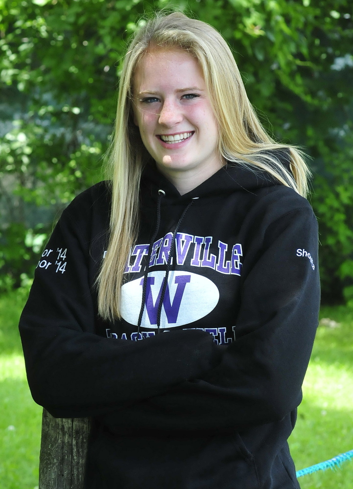 Sarah Shoulta is the Morning Sentinel Girls Track Athlete of the Year.