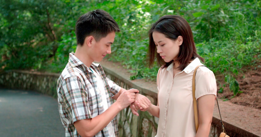"Yulai Lu, left, and Wenchao He in a scene from ""Trap Street""."