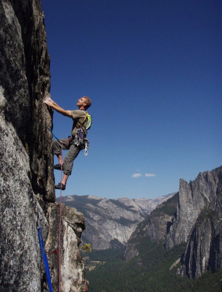 ;lkjasdf;lkjlkj .... Brian Delaney on the East Buttress of El Capitan in Yosemite National Park last year and with his daughter in Peru earlier this summer .... ;lkjasdf;lkj asfd asdfl;kj asdf;ljksfda;lkj sdf;lkjsdfvasdfsdv.