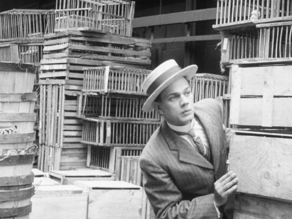 """Joseph Cotten in a still from the 1938 Orson Welles movie """"Too Much Johnson."""""""
