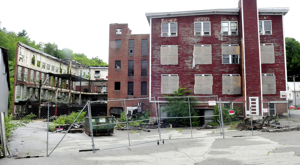 The Forster mill building in Wilton is subject of mediation between the town and owner Adam Mack. The town wants Mack to tear it down.