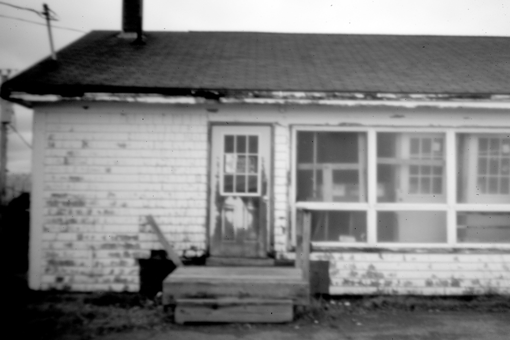 A reservation building in disrepair exemplifies the difficult life at Indian Township. Governing without a tribal constitution has put the Passamaquoddy in a risky spot in the years since the land claims pact, as there is no reliable way to enforce tribal laws on Indian leaders.