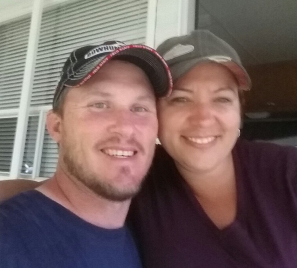 Kimberly Godsoe, who died in an ATV accident Sunday, July with her husband Earl. She was town manager of Corinna.
