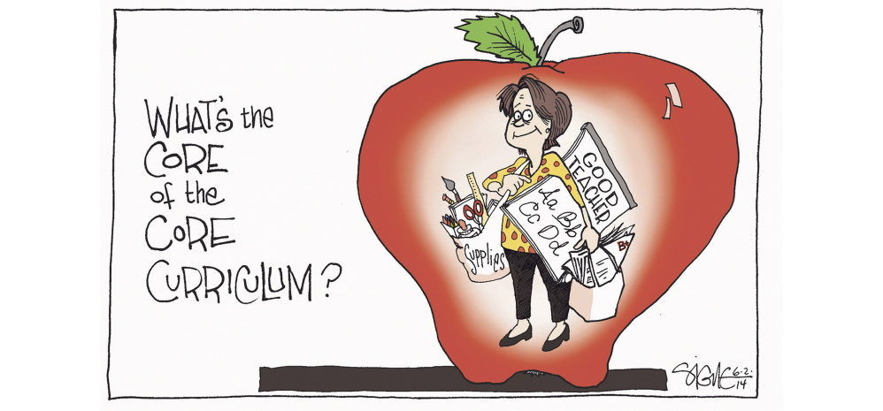 Today S Editorial Cartoon Central Maine