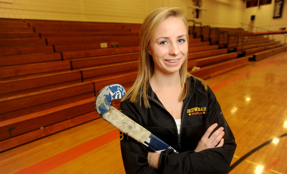 Reigning Morning Sentinel Field Hockey Player of the Year Allison Lancaster is one of several standouts who will particpate in the annual senior all star game Saturday at Thomas College