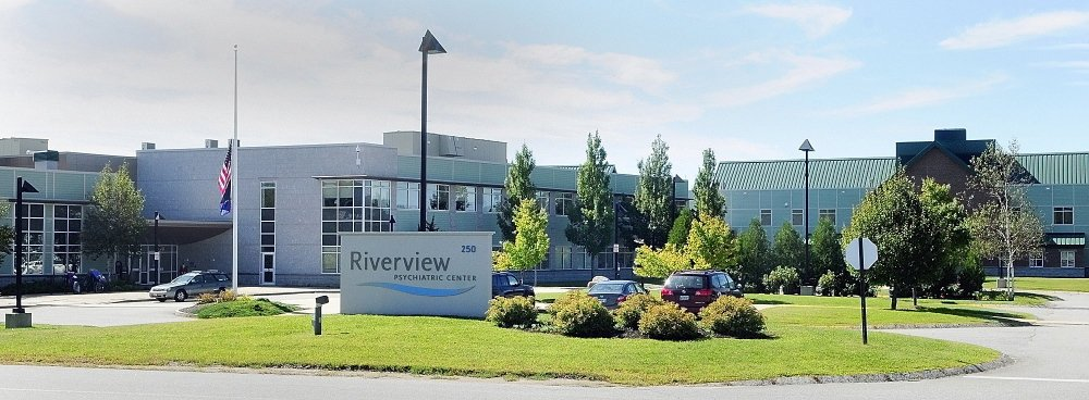 The Riverview Psychiatric Center, on the east side of Augusta, was recently criticized by federal inspectors for having too few pharmacy workers and no time for mental health workers to work one on one with patients.