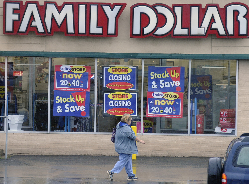 "The Family Dollar Store in Augusta  will be closing, a decision a company spokesman said was made because the store is ""underperforming."""