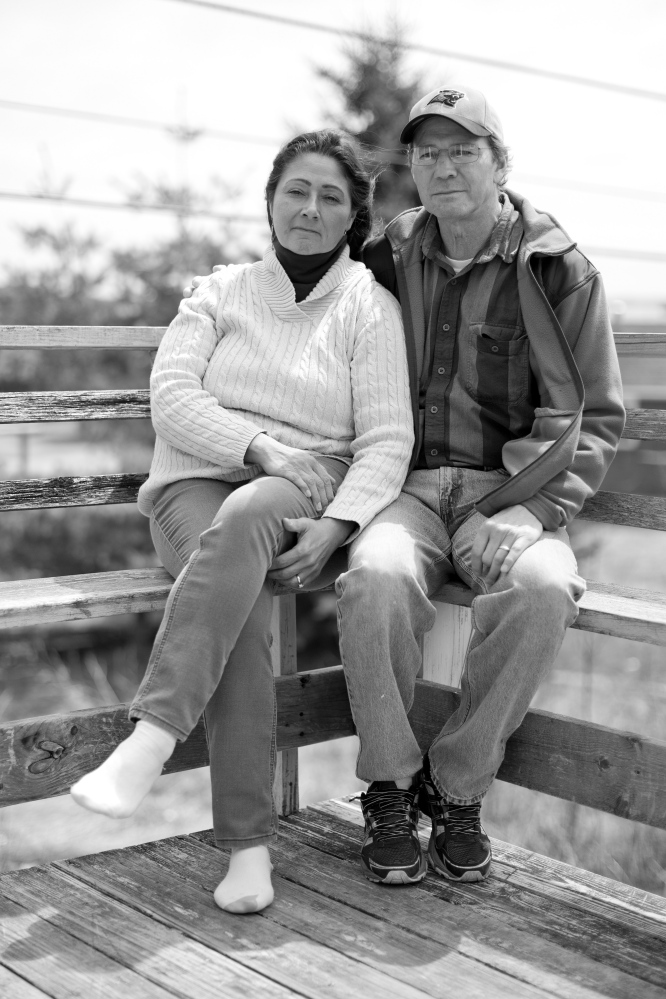 Denise and Brian Altvater, left, are active in tribal affairs. Brian is a former lieutenant governor; Denise co-founded the Maine-Wabanaki State Child Welfare Truth and Reconciliation Commission.