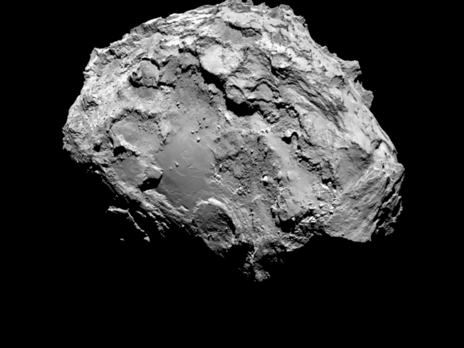 The Associated Press In this picture taken on Aug. 3 by Rosetta's OSIRIS narrow-angle camera Comet 67P/Churyumov-Gerasimenko is pictured from a distance of 285 kms.