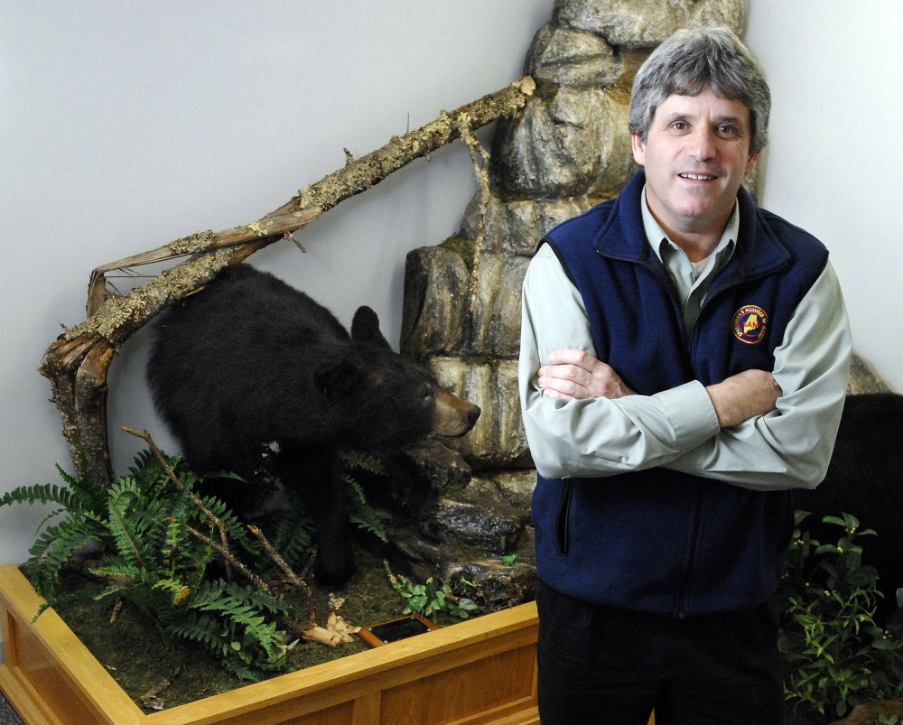 Sportsman's Alliance of Maine Executive Director David Trahan, shown in 2011 at his Augusta headquarters.