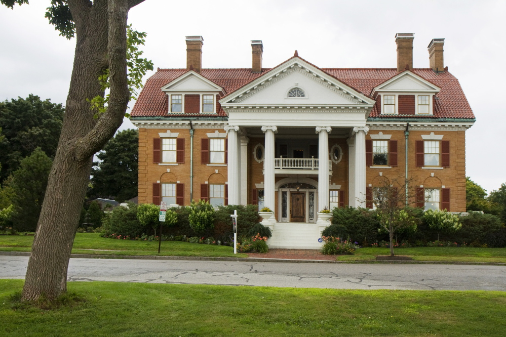 The 13,000 square foot West Mansion, Portland's largest, is for sale at just under $ 3 million.