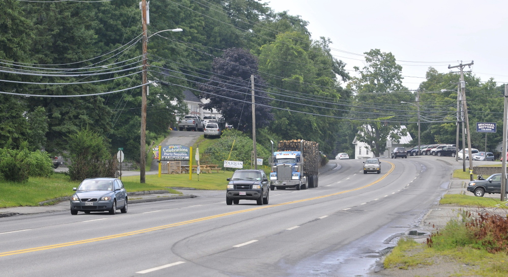 U.S. Route 2 in Farmington is the subject of a meeting Tuesday night on possible delays in rebuilding the road because of delays in construction of a natural gas pipeline along the road.