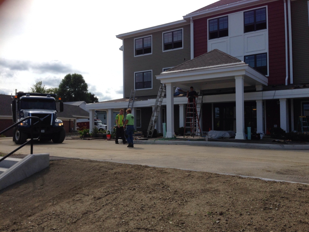 Phase one of St. Francis low-income elderly housing project on Elm Street in Waterville. The city is considering creating a tax increment financing district to help finance phase two.
